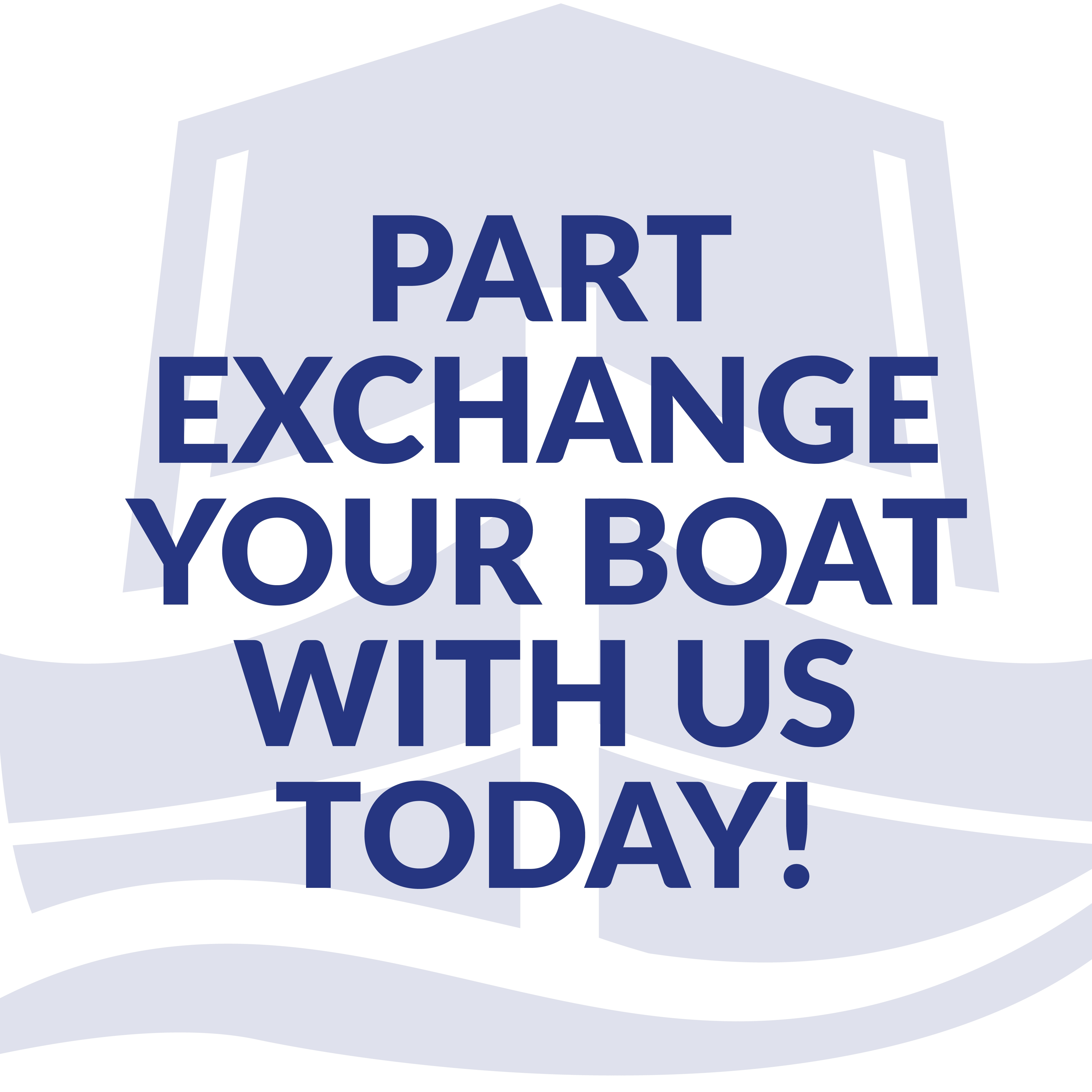 Boat Sales Part Exchange Website Graphic 1000px x 1000px