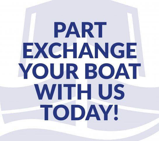Boat Sales Part Exchange Website Graphic 1000px x 1000px