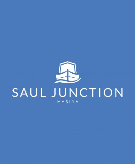 Boat Sales Saul Junction Marina Logo Website Graphic 1000px x 1000px