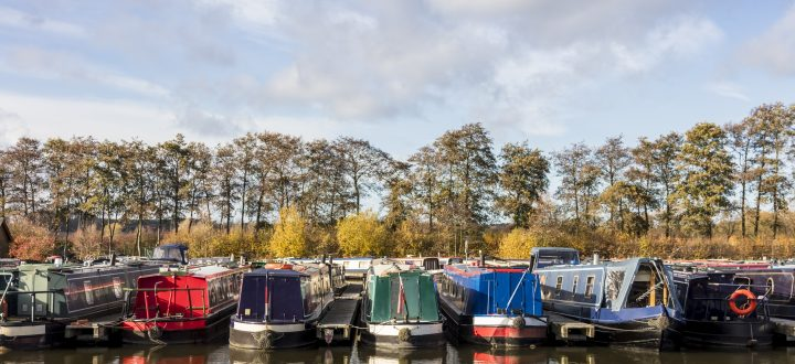 Our Favourite Autumn Canal Journeys